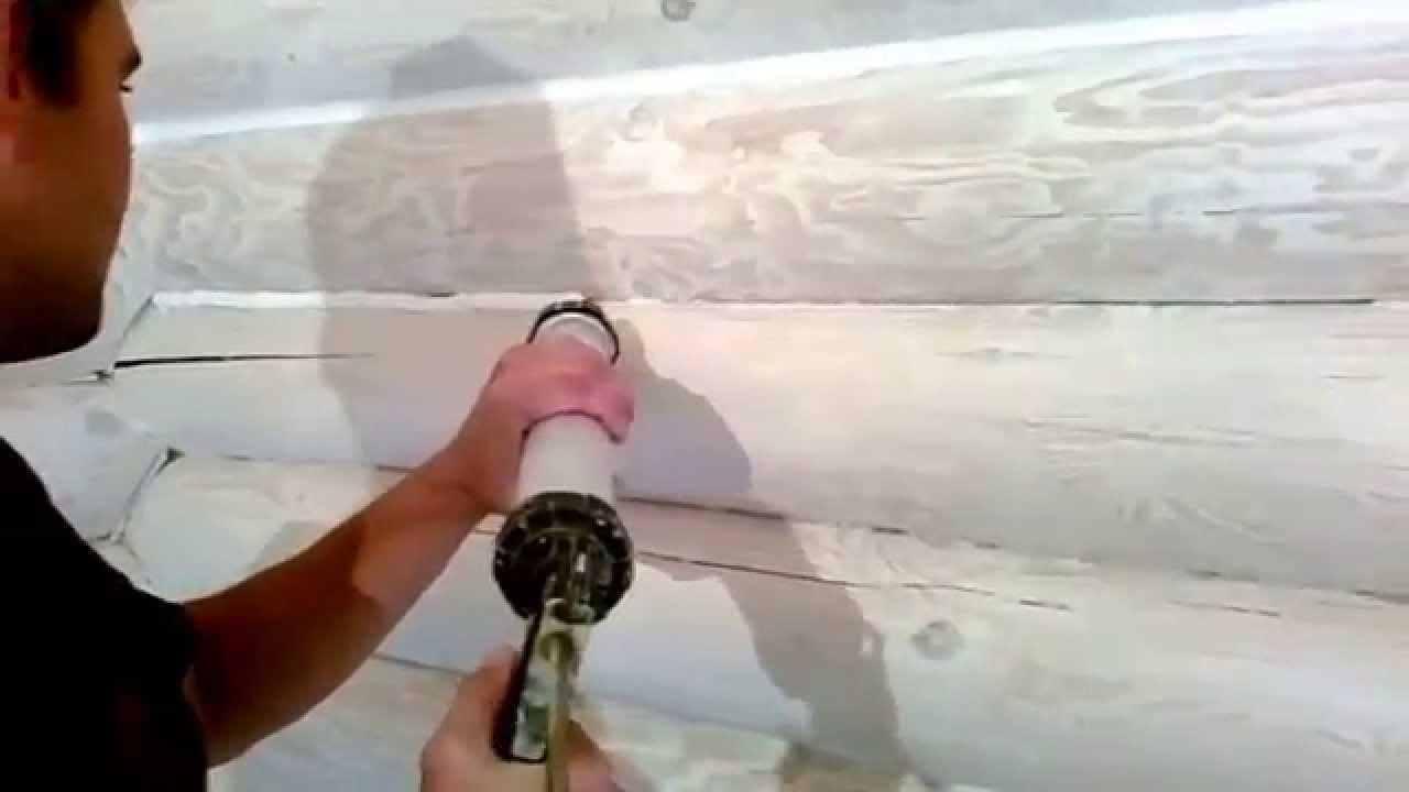 Герметик для швов в деревянном доме 2