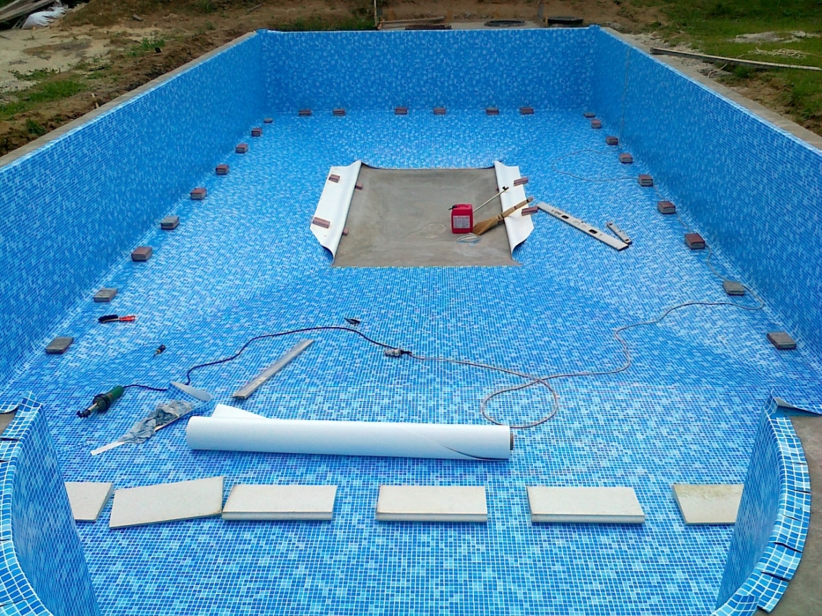 Гидроизоляция бассейна 1