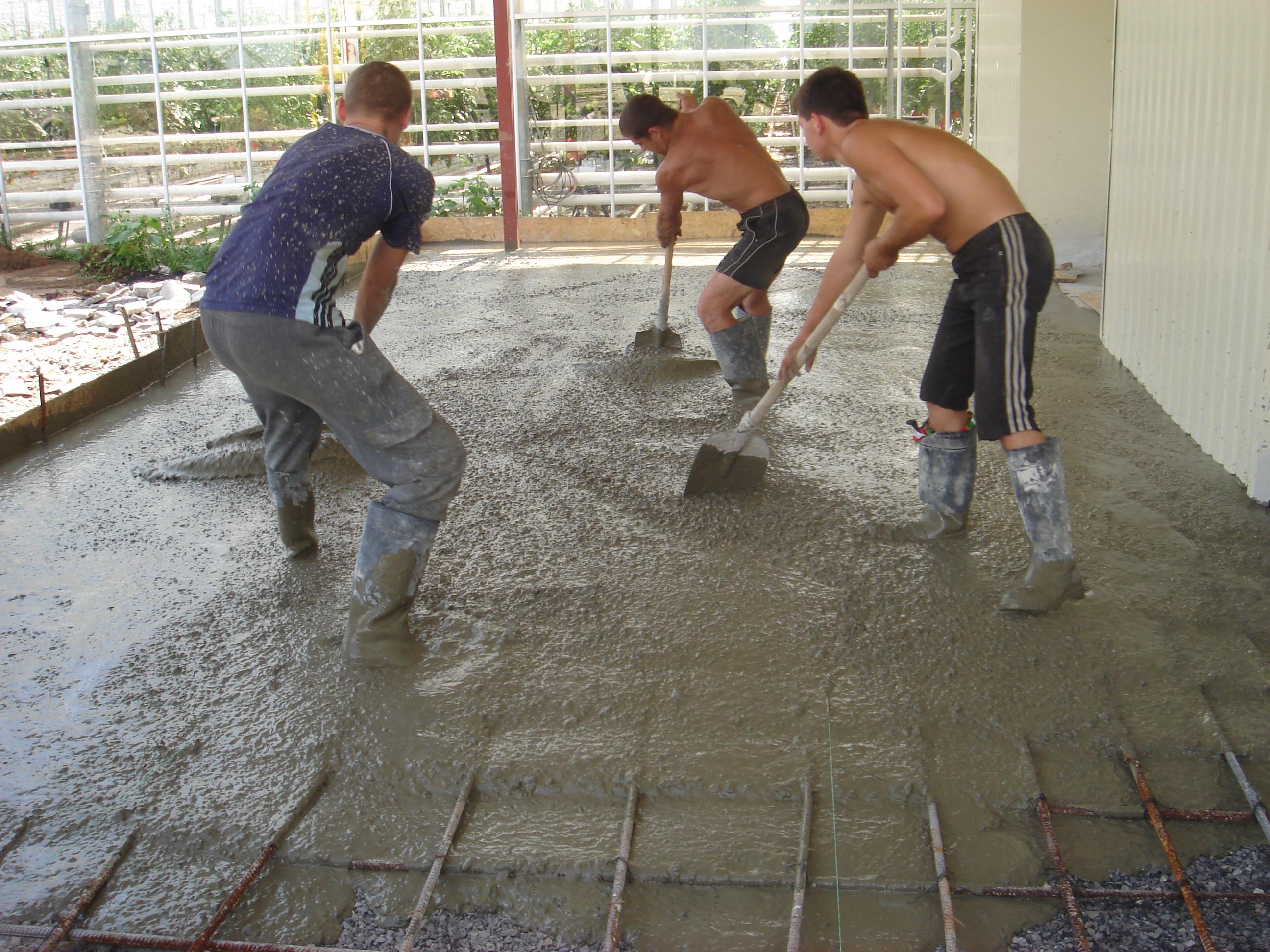 Гидроизоляция бетонного пола 5