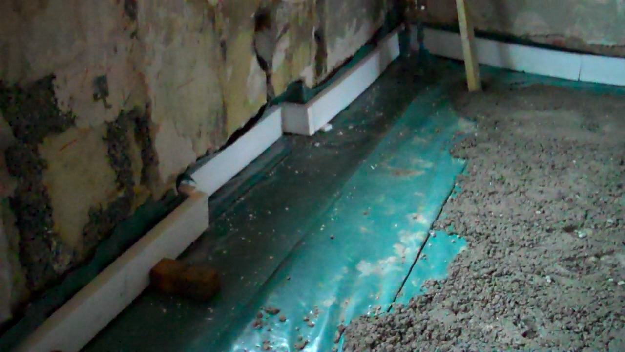 Сделать бетонные полы в частном доме своими руками