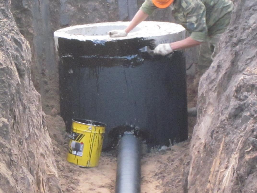Можно ли обрабатывать бетонные кольца колодца гидрофобизатором мастика зеландия киев