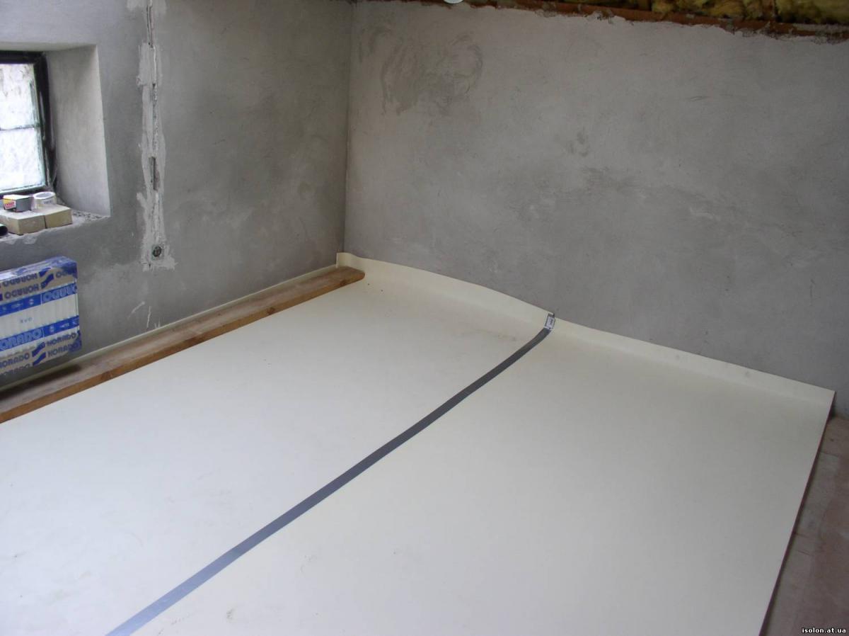Гидроизоляция полов в комнате 2